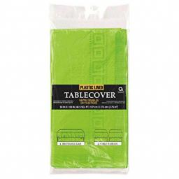 Kiwi Green Paper Tablecover 1.37m x 2.74m