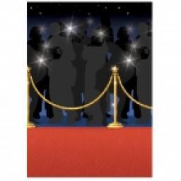Room Roll Scene Setters Red Carpet 4x50ft