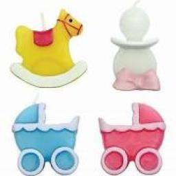 PME 4 Baby Candles