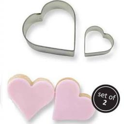 PME Metal Cutters Set of 2 Heart