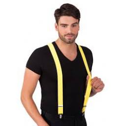 Suspenders Neon 4 Asstd Colours