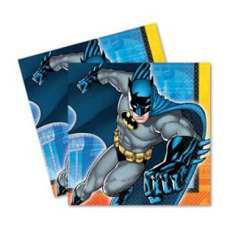 Batman Luncheon Napkins 33cm 2ply 16pcs