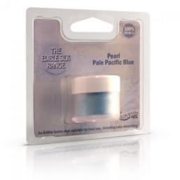 Edible Silk -Pearl Pacific Blue