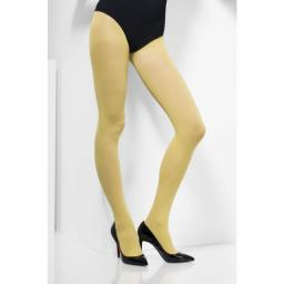 Fever Opaque Tights Yellow