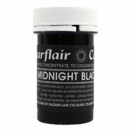 Sugarflair Pastel Midnight Black 25g Food Colour