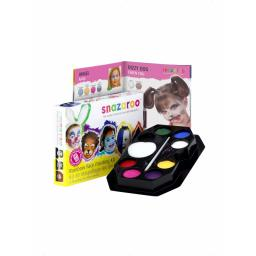 RAINBOW KIT 8 COLOURS BRUSH & SPONGE