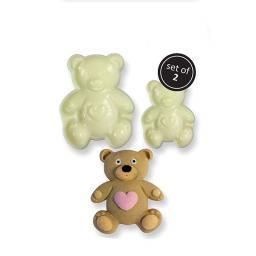 JEM Pop It Mould Teddy Set of 2