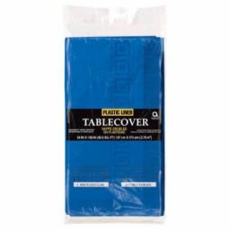Bright Royal Blue Paper Tablecovers 3ply -1.37m x 2.74m