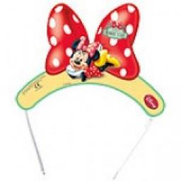Minnie Mouse Tiaras 6pcs
