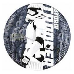Star Wars Paper Plates 8ct 19.5cm