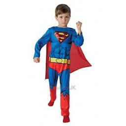 Superman Classic Childs Costume Small 3-4 years