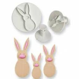 PME Rabbit Plunger/Cutters Set of 3