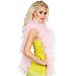Light Pink Feather Boa 50g