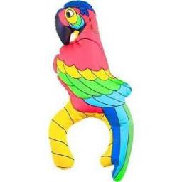 Inflatable Pirates Parrot 28cm High
