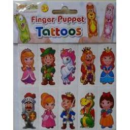 Finger Puppet Tattoos