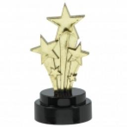 Hollywood Trophies 7.6cm 6pcs