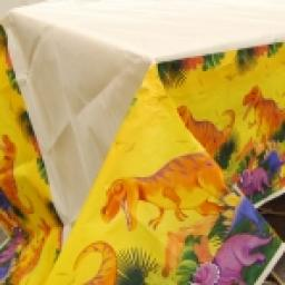 Prehistoric Paper Tablecover 54x102 in
