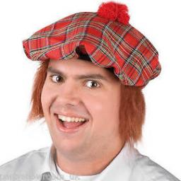 Cap Scotsman with Hair