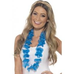 Hawaiian Lei Neon Blue