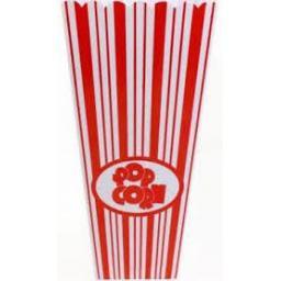 Pop Corn Plastic Container