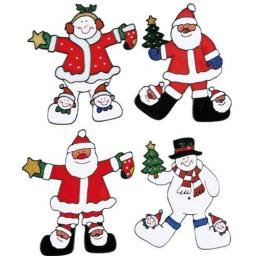 22cm Christmas Window Sticker Decoration choiche o