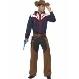 Rodeo Cowboy Shirt chaps and hat
