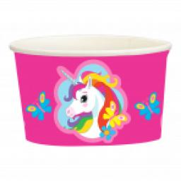 Unicorn Paper Treat/Ice Cream Cups 251ml