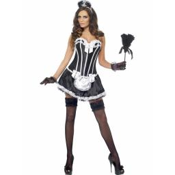 French Maid Bonet Corset and Tutu Medium
