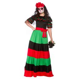Day Of The Dead Senorita- Small Size