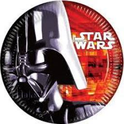 Star Wars Party Paper Plates 8x23cm