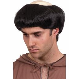 MONKS WIG RUBBER TOP BEST QUAL FBRE...AS