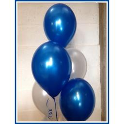 Met Royal Blue 12 inch Latex Balloon 50 pcs