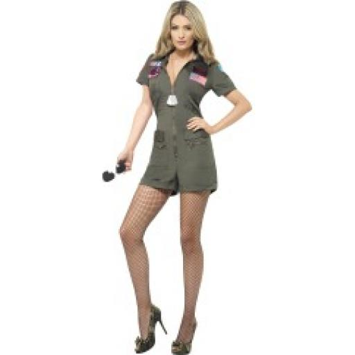 Top Gun Aviator Playsuit and Sunglasses
