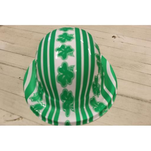 St Patricks Irish Platic Bowler Hat