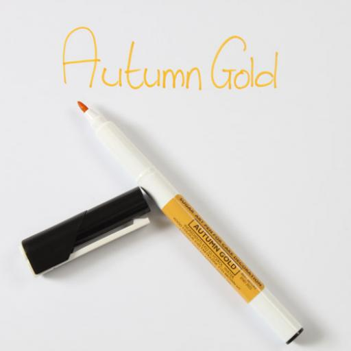 Sugar Art Pen Autumn Gold For Cake Decorating