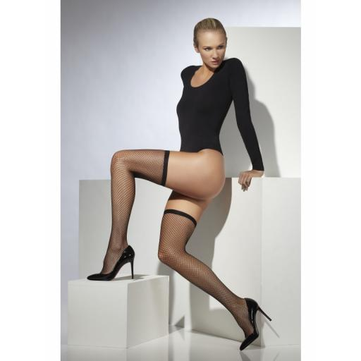 Fever Lattice Net Hold Ups Black