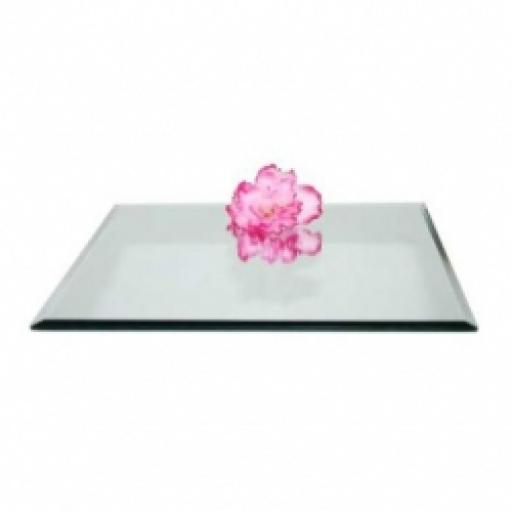 Square Mirror Plate 35cm
