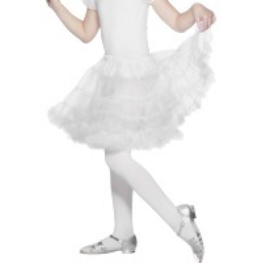 Petticoat Child Layered white