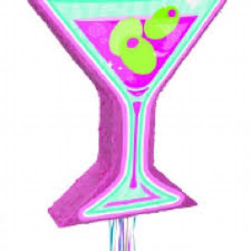 Martini Pull Pinata