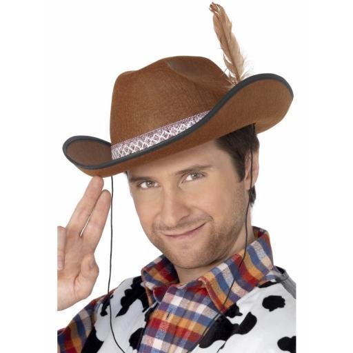 Dallas Cowboy Hat Felt with Feather