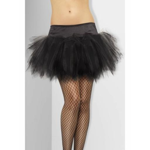 Fever Tutu Frilly Black