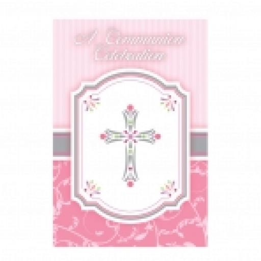 Blessings Pink 20 Invitations