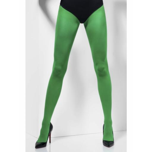 Fever Opaque Green Tights