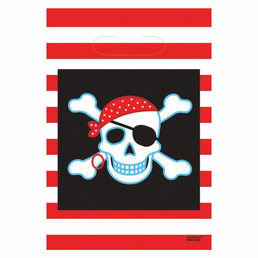 Pirate Party Bags 8ct