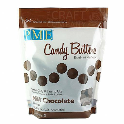 PME Milk Chocolate Candy Melt Buttons 340 g
