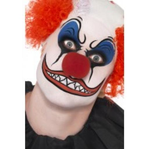 Clown Make Up Kit Includes Paint & Nose