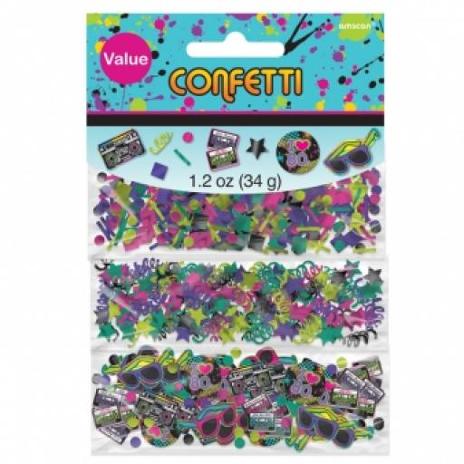 Totally 80s 3 Pack Confetti