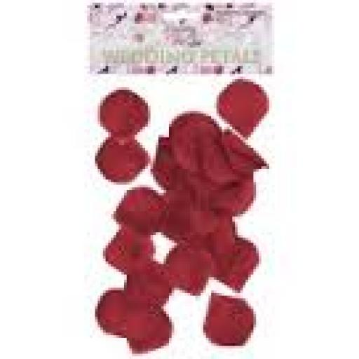 Wedding Petals Burgundy 150pcs