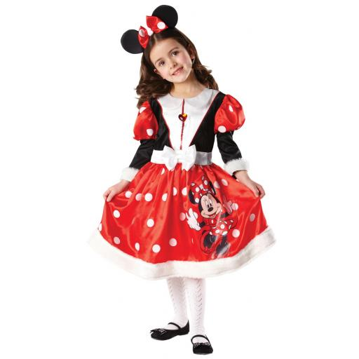 Winter Wonderland Minnie Mouse Dress&Headband