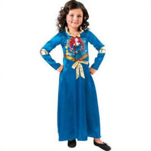Princess Merida Dress LARGE
